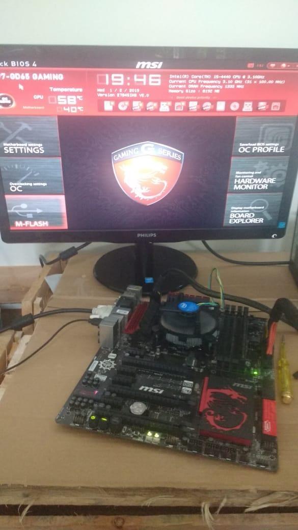 Placa-mãe Msi Z97 Gd65 Gaming - Lga1150