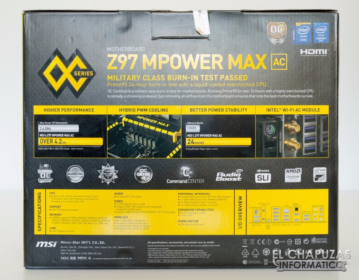 MSI Z97 MPOWER MAX AC Intel Bluetooth Drivers for Windows