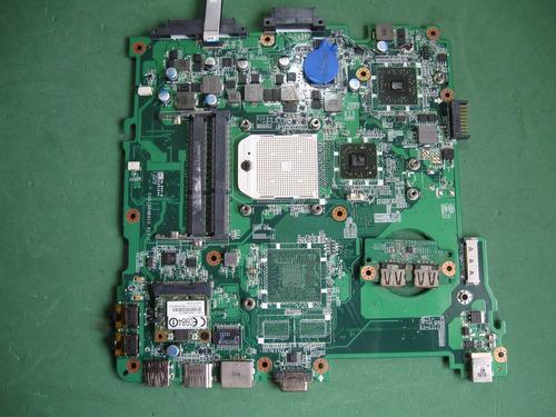 placa mãe  notebook  emachines d442(defeito) (pmn-038)