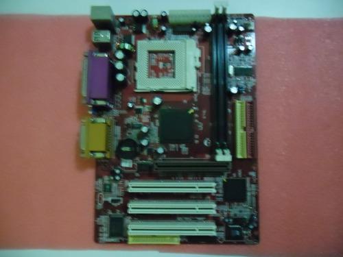 placa mãe p/ pc intel pentium 3 socketpga370 com defeito!!!!