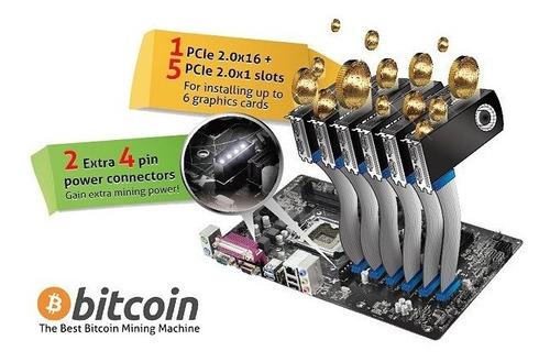 placa mãe para mineração asrock h110 pro btc+