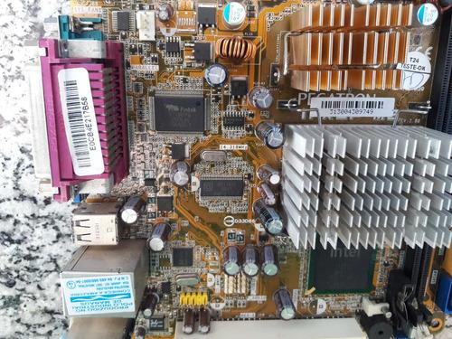 placa mâe pegatron com processador (não funciona)