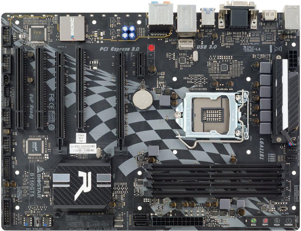 Biostar B150GT5 Ver. 5.x Intel LAN 64Bit
