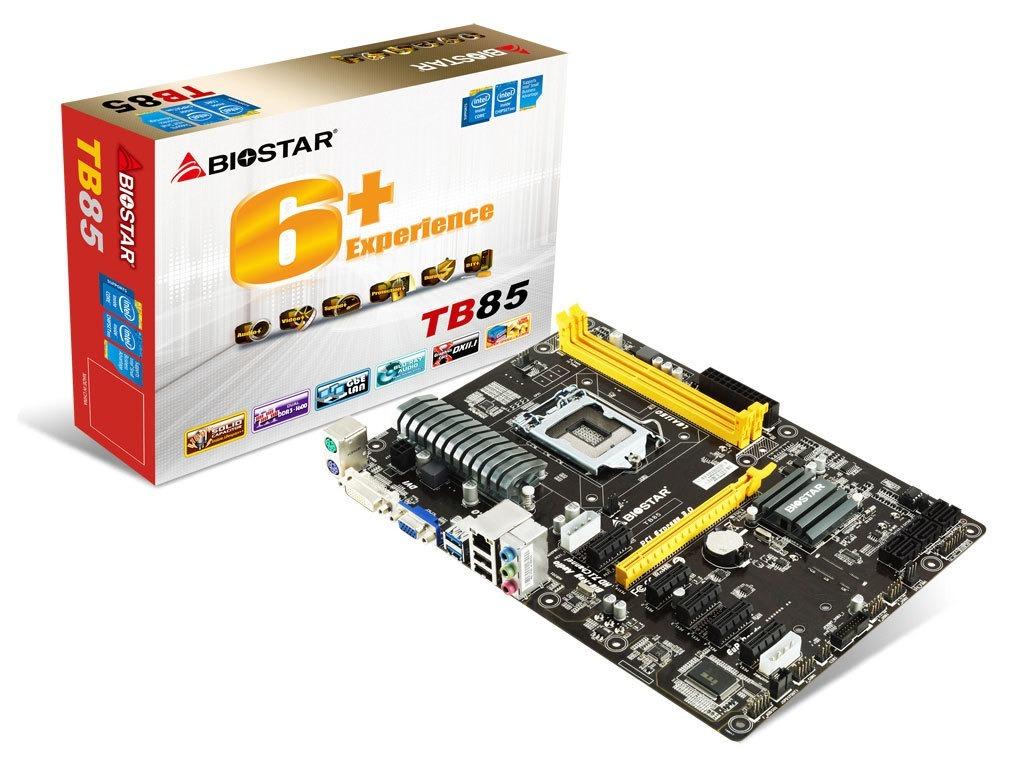 Biostar TB85 Intel Rapid Start Drivers (2019)