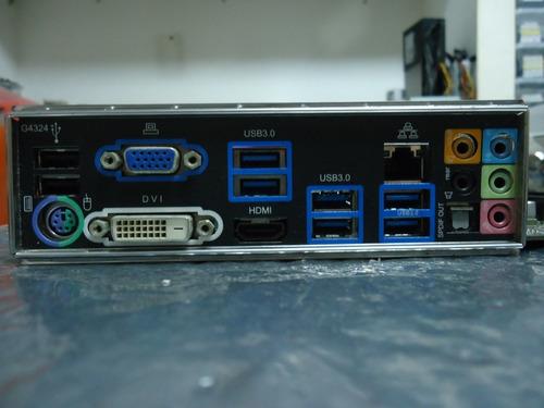 placa mãe z77 gigabyte ga z77x d3h lga 1155 funcionando 100%