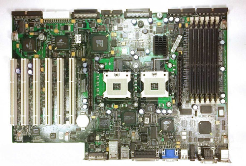 placa mãe,servidor hp proliant ml370 g3 p/n 316864-001