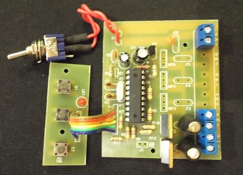 placa+microcont gravado p/ stroboled safety-car/pisca-alerta