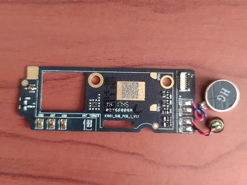 placa micrófono antena señal blu r2 lte r0172ww original