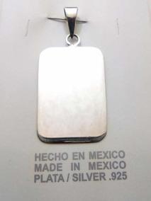 d1e9f210b782 Placas Militares Plata - Joyería en Mercado Libre México