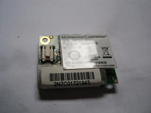 placa mini modem notebook positivo ml3054