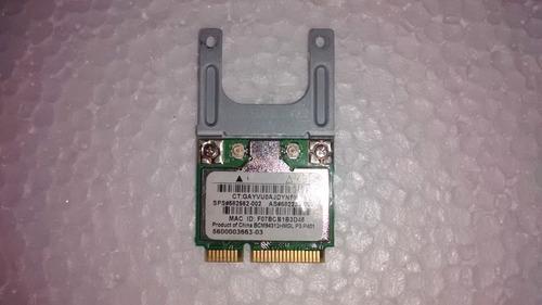 placa mini pci wifi wireless compaq cq40 bmc94312hmg