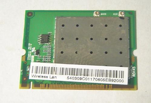 placa mini pci wireless notebook acer aspire 9300 t60n874.05
