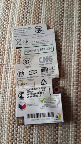 placa modem de toshiba satellite a 205