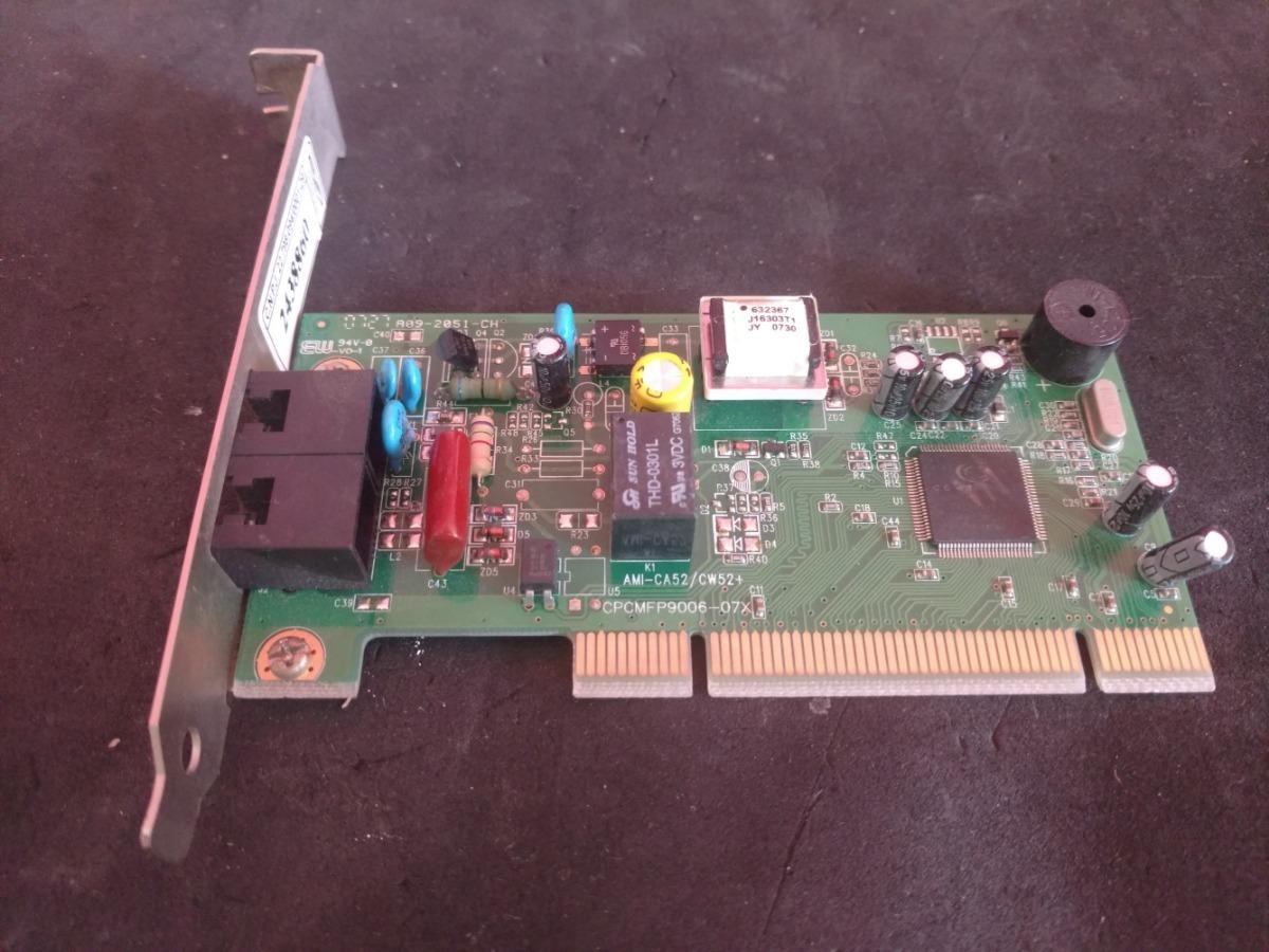 FAX MODEM 56K PCI V92 AMI-CW DRIVER PC
