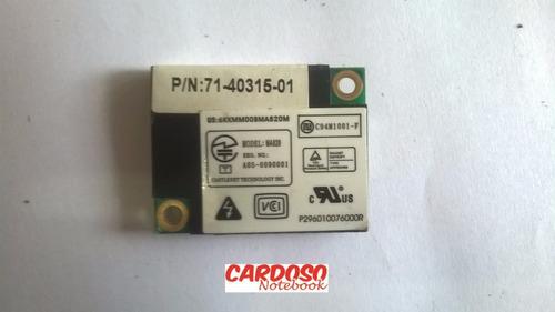 placa modem semp toshiba 71-40315-01 ma820