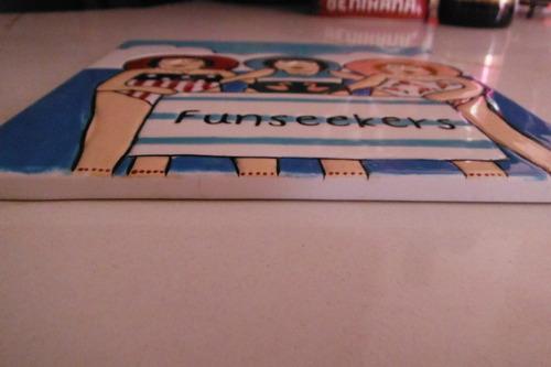 placa mosaico funseekers 2003 janice joplin schoettger gllry