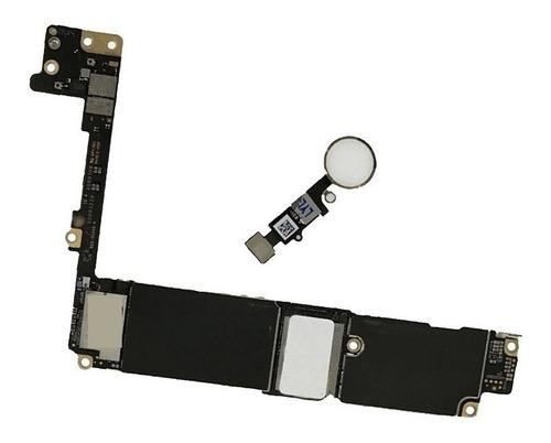 placa  motherboard t.madre  iphone 7 plus 128gb   b/h blanco