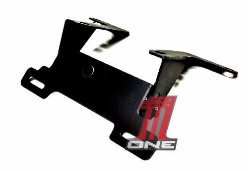 placa moto suporte
