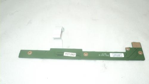 placa multimídia e botão power notebook hp pavilion ze2000