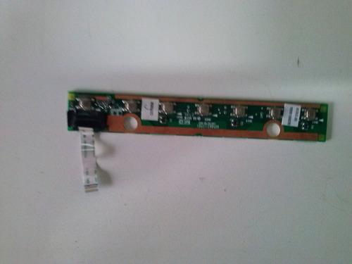 placa multimidia notebook toshiba satelite a205 s4577