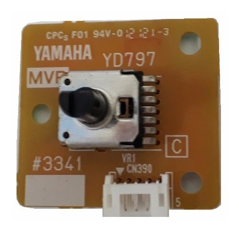 placa mvr volume master teclado yamaha psr e433 psr e443