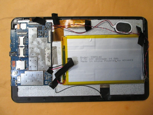 placa o tarjeta de tablet advance at-a17h pr4647 - repuestos