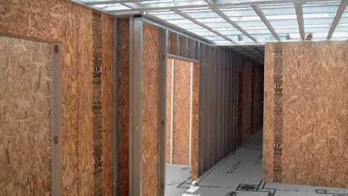 placa osb fenolico 9,5mm -1,22 x 2,44 m- para steel frame