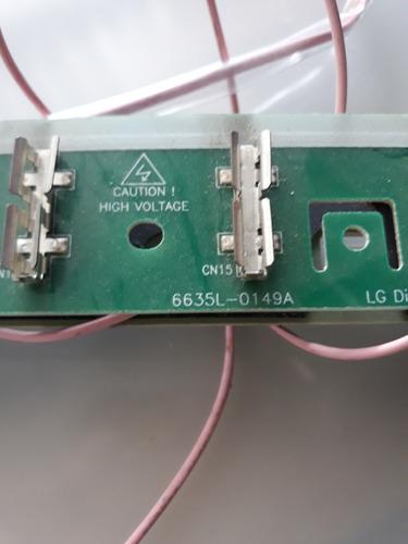 placa p lâmpadas lcd tv 42 lg 42lk450/460 (par)