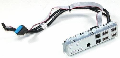 Placa Painel De Audio E Usb Dell Optiplex 790 990 Sff 0gvj4g