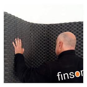 Placa Panel Acústico 100 X 50 X 3 Cm. Envíos A Todo El País