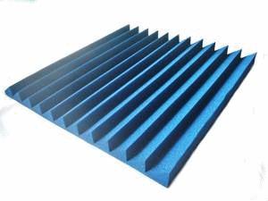 placa panel acustico 40mm cunias 50x50 color salas de ensayo