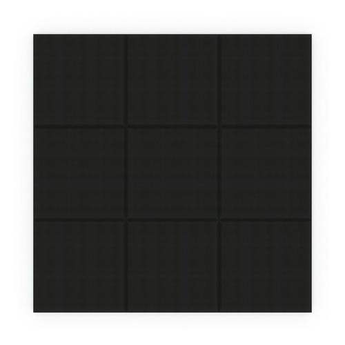 placa panel acustico absorbente liso 500x500x50mm basic