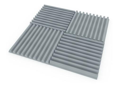 placa panel acústico  ignífugo ciclos 30mm espesor gris