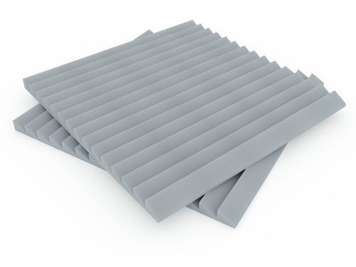 placa panel acustico premium ignifugo saw 30mm espesor gris