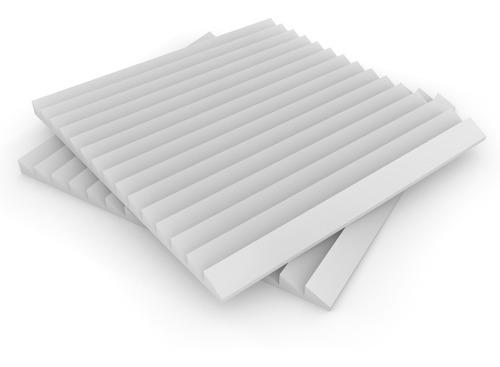 placa panel acustico premium ignifugo saw 61x61x30 musycom