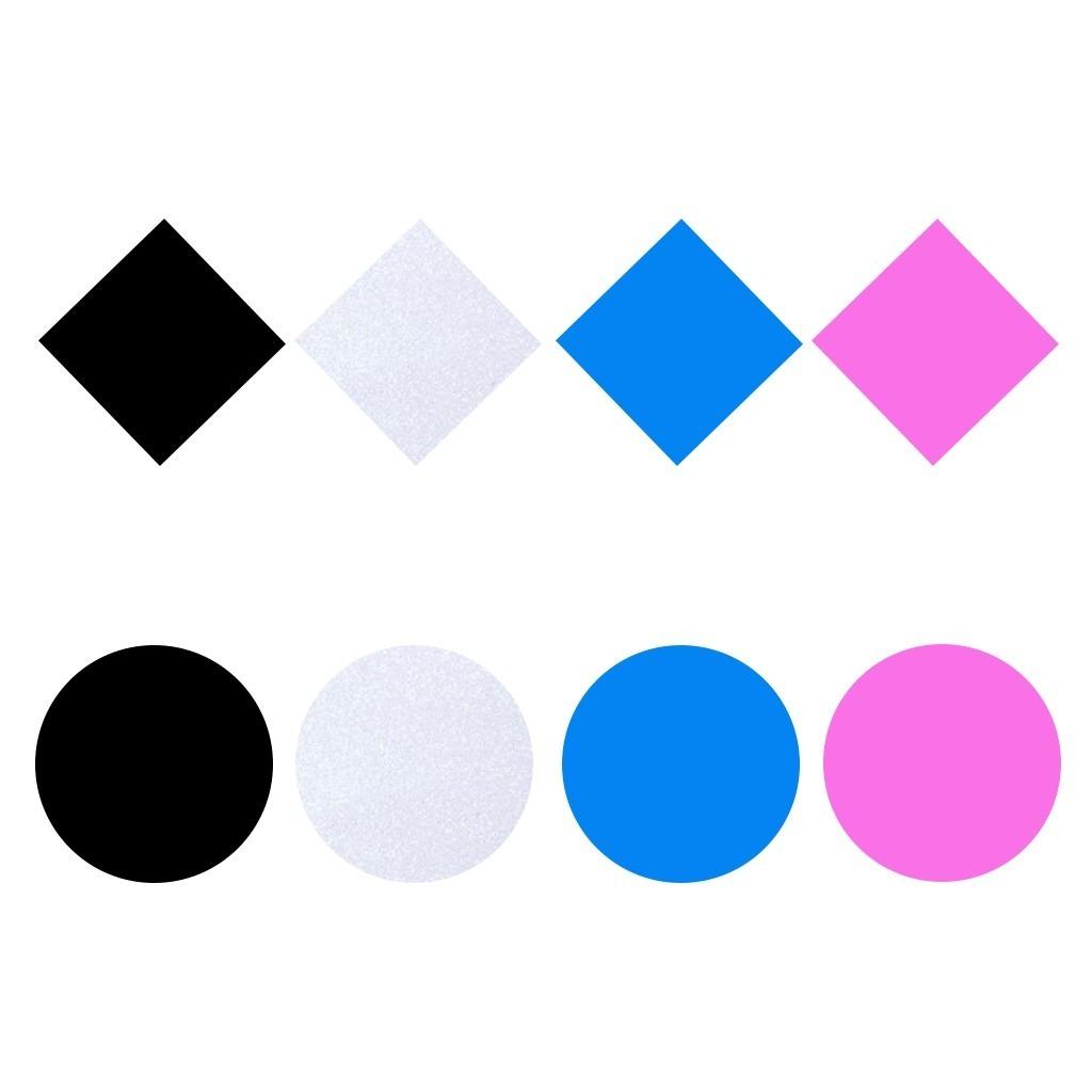Placa Para Moldeira De Clareamento 1 0mm C5 Colorida Glitter R 18
