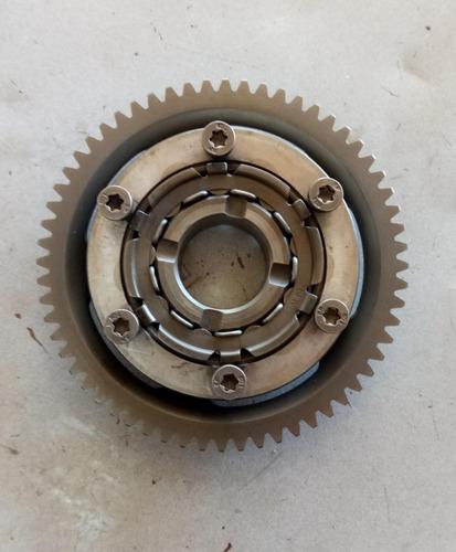 placa partida cbx 250 twister com engrenagem usado original