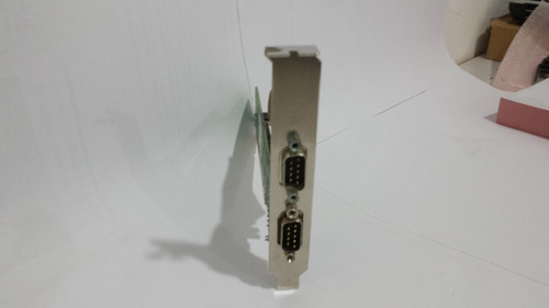 placa pci 2 portas seriais rs 232 barramento pscomm-p232-2