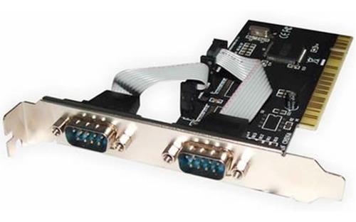 placa pci con 2 puertos serie rs232 db9 serial impresoras