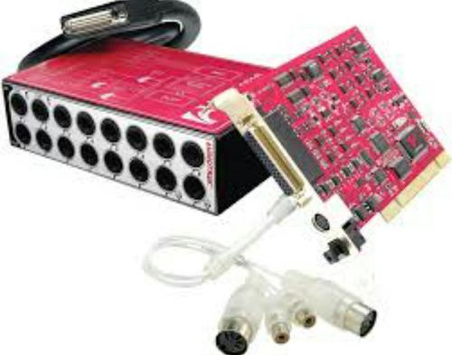 placa pci de m-audio delta 1010 lt y placa delta maya 1010