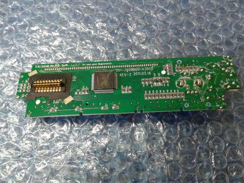 placa pci do painel display pca240