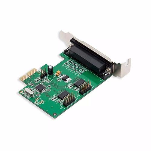placa pci e puertos paralelo y serie rs232 impresora fiscal