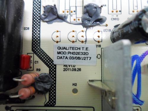 placa pci fonte 32l05hd tv philco ph32e32d apenas tvs philco