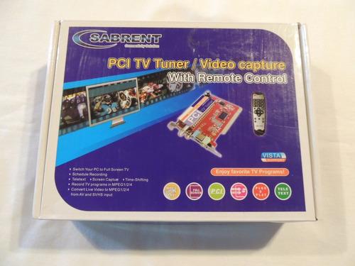 placa pci tuner tv/video capture philips c/ controle remoto