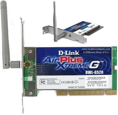 D-Link AirPlus DWL-G520 Wireless Drivers Download (2019)