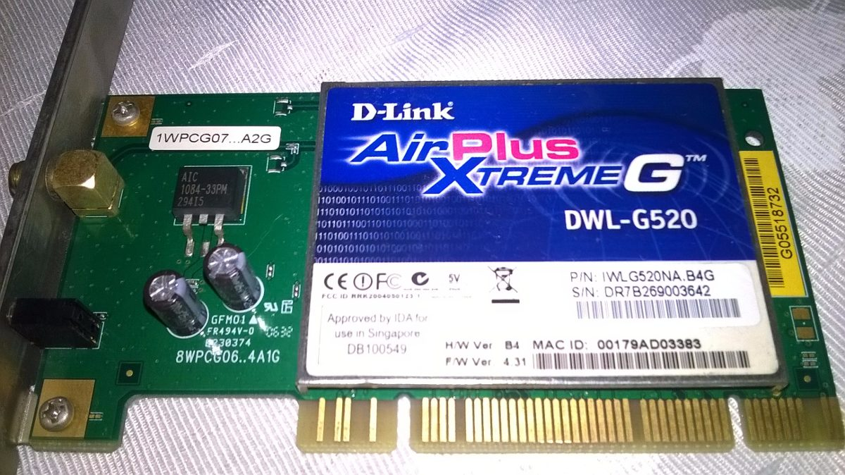 D-Link DWL-520 New