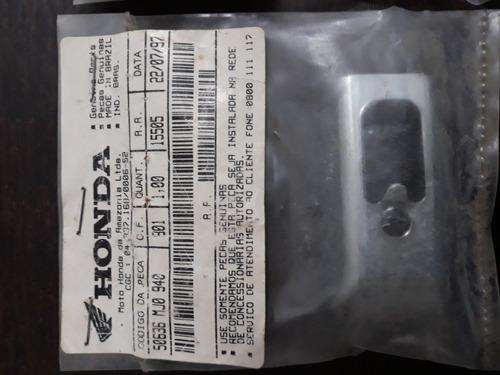 placa pedaleira traseira cbx750f ano 87 a 94 original honda