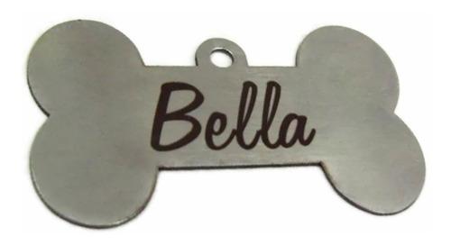 placa perro mascota