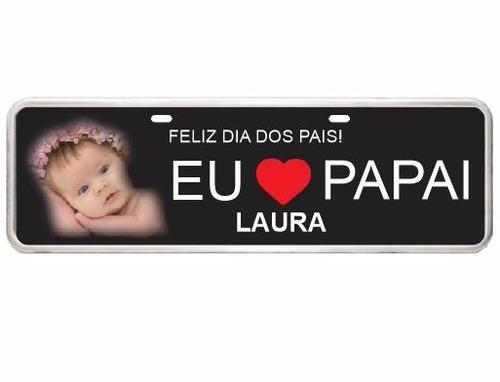 placa personalizada dia dos pais vovô dia das mães presente