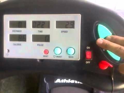 placa p/esteira ergométrica  athletic advanced 2 modelo 2011